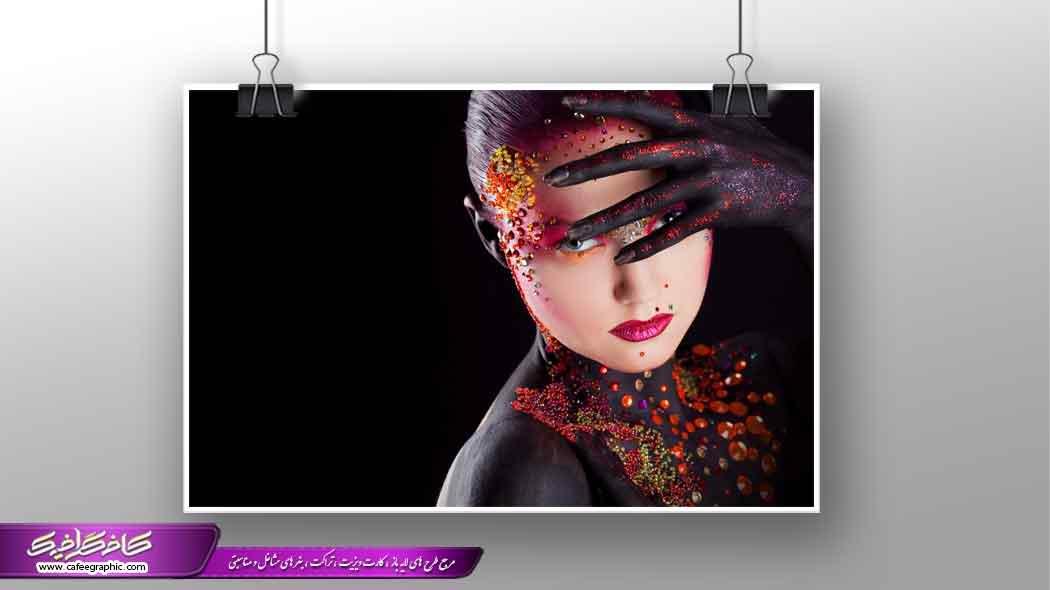 تصویر استوک بانوی رقص باله
